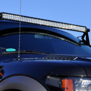 Truck with Roof Mount Infinity LED Solutions