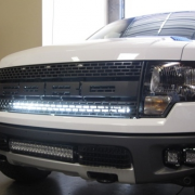 Truck with Grille Mount Infinity LED Solutions